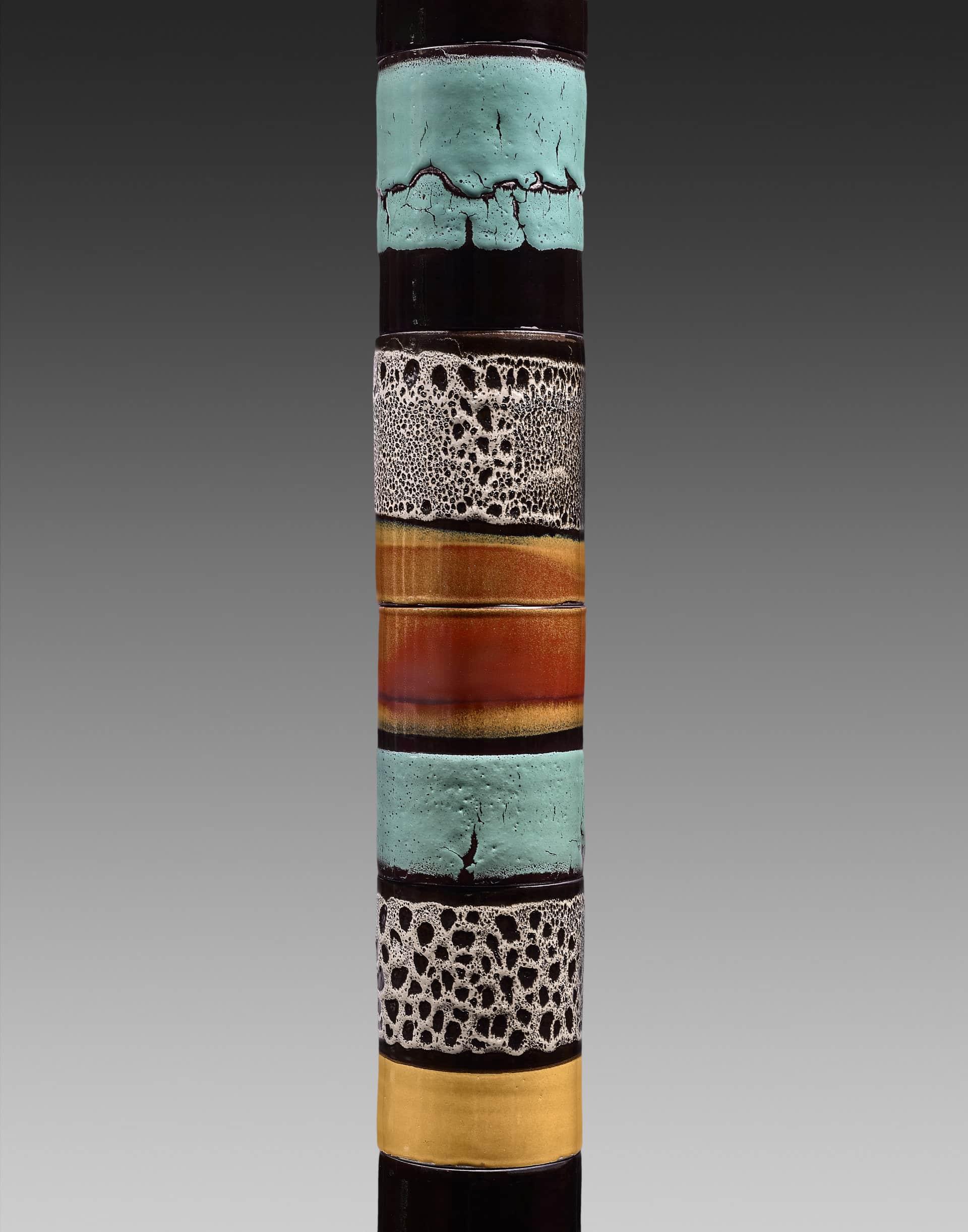 detail-totems-ceramiques-multicolor