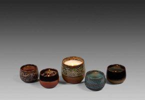 bougies parfumees verrines ceramiques