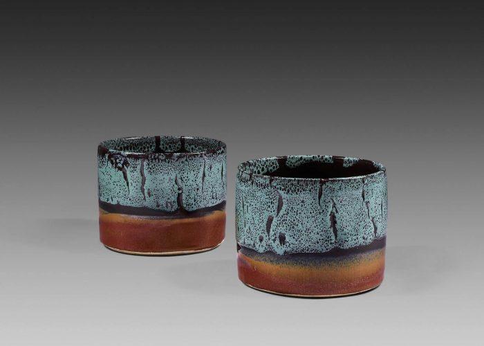 paire cache pots ceramiques colvert