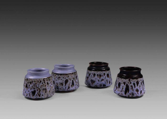 paires vases ceramiques persan