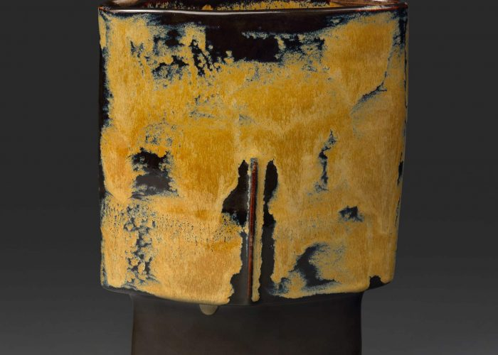 vase ceramique masque safran